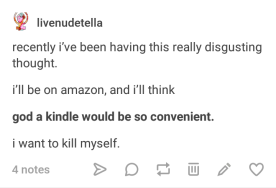 It's not hard to find Tumblr users who are passionately anti-Kindle.