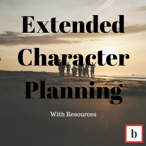 Extended Character Planning