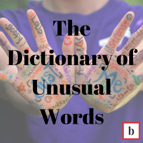The Dictionary of Unusual Words