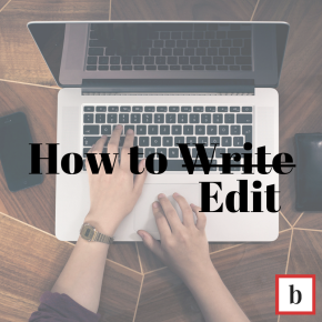 How To… Edit