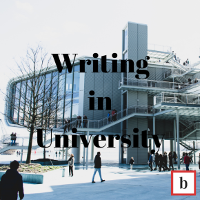 Writing in University