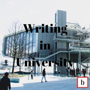 Writing in University
